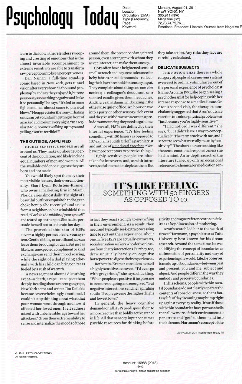popular psychology articles