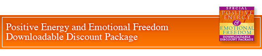positive energy and emotional freedom