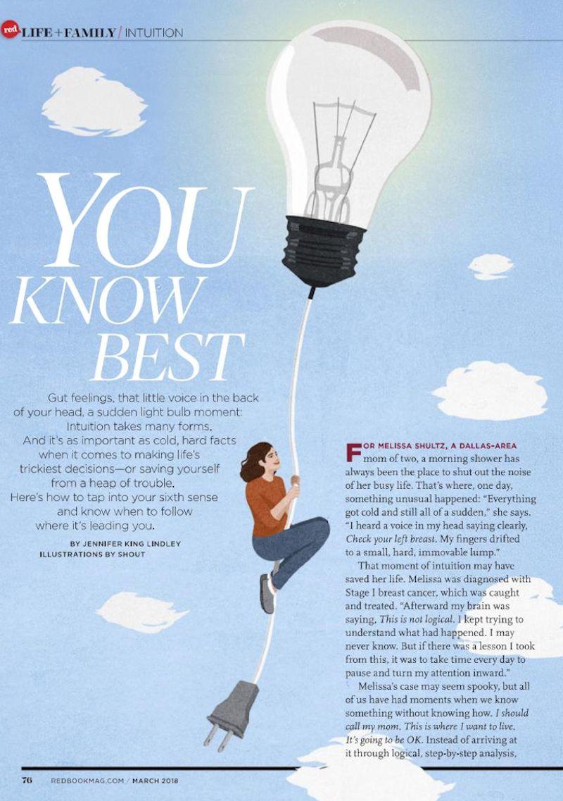 Redbook Magazine: You Know Best - Judith Orloff MD